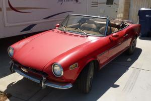 1970 Fiat 124 Sport Coupe/Spider