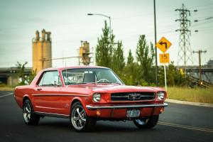1964 1/2 Mustang Coupe V8 C4 Auto Mild Custom Engine upgrade Clean!