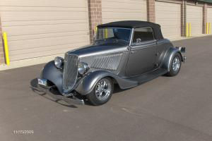 1933 Ford Cabriolet   All Steel