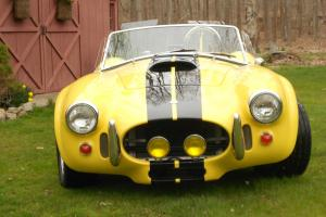 1965 Shelby Cobra 427SC roadster replica. Show it or ride with the wind