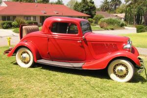 1933 Ford Three Window Coupe, Real Deal all Henry Ford Steel Body Coupe, Amazing