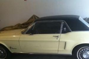 CLASSIC 68 FORD MUSTANG, 22,000  MILES/MINT CONDITION, ORIGINAL PARTS; GAR. KEPT