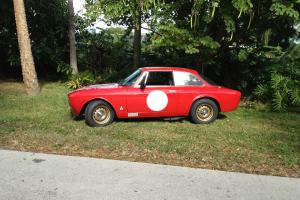 1966 ALFA ROMEO Giulia Sprint GT Vintage Race Car.  Excellent Condition