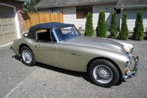 1967 Austin Healey 3000 MkIII, Original, low mileage, Concours Gold Medal Photo