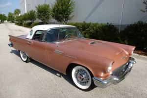 1957 Thunderbird - Nice Driver - Loaded With Options! - $28,900
