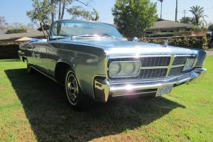 1965 Chrysler Imperial Convertible fully restored and ready to be enjoyed!!