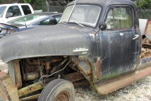 1950 GMC 150 PICK UP RAT-ROD PROJECT OR PARTS ALL THERE