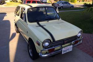 1970 HONDA 600 SEDAN IN VERY NICE CONDITION & ENDORSED BY MERCILESS MINGS