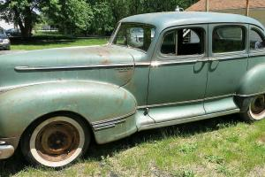 1946 HUDSON SUPER SIX SEDAN 32,523 MILEAGE 1 FAMILY OWNED DOES NOT RUN
