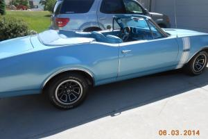 1968 Oldsmobile 442 Convertible- Numbers Matching Photo