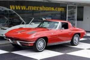 1963 Chevrolet Corvette Numbers Matching 327/300 Riverside Red Photo