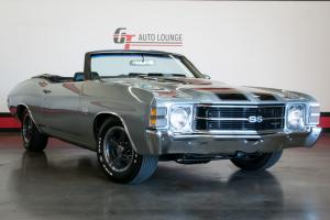 1971 Chevelle SS Convertible LS5 454 Numbers Matching 4 Speed Manual Factory Air