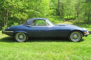 1974 Jaguar XKE V-12, E type, series 3, 2 dr. Convertible