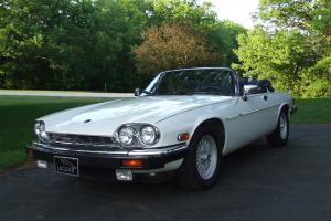 1989 Jaguar XJS V12 Convertible 2-Door 5.3L White Great Condition