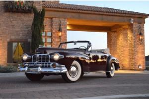 1946 Lincoln Continental Convertible Stuning older restoration CA car