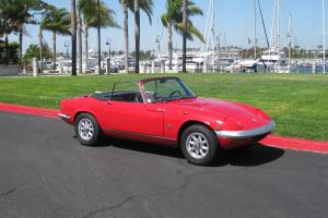 Lotus Elan 1967 DHC orig black plate California Car, well sorted 4 summer fun!!! Photo