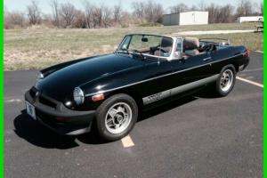 1980 MG MGB Limited Edition Rare Interior Manual Trans SHARP CLASSIC Low Miles Photo