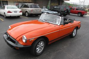 1979 MG MGB MK IV Convertible 2-Door 1.8L Photo