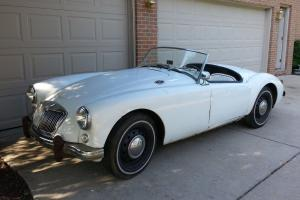 MGA 1958 1500 GARAGE FIND *NO RESERVE* RARE ORIG GLACIER BLUE - STORED 40 YRS