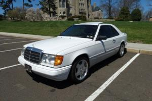 1989 MERCEDES BENZ W124 COUPE HARDTOP NEWER ENGINE TRANSMISSION RARE