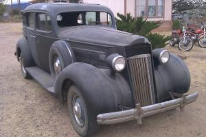 1936 Packard 120, 4 dr, 8 cyl, for restoration.