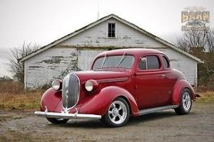 1938 Burgundy, 454, automatic, beautiful paint and interior