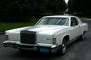 INCREDIBLE ONE OWNER SURVIVOR  1978 Lincoln Town Coupe -  30K ORIG MI