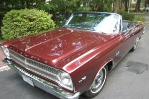 65 Plymouth Satellite Convertible, clone,  426 C.I. street wedge