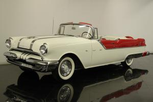 1955 Pontiac Star Chief Convertible Numbers Matching 287ci V8 Automatic PT