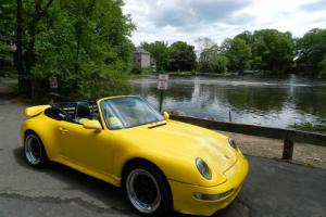 1974 PORSCE 911 1996 2006 MINT CONVERTIBLE LOW MILES YELLOW WIDEBODY RARE