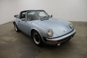 1980 Porsche 911SC Targa, matching#'s, light blue metallic, 5 speed manual, A/C