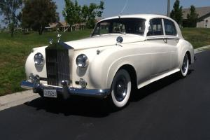Silver Cloud, antique ivory, 1960, low mileage, left hand drive