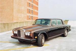 ANDY WARHOL'S PRIZED 1974 ROLLS ROYCE SILVER SHADOW Photo