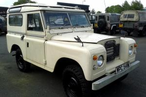 1974 LANDROVER SERIES 3 GENUINE STATION WAGON WITH SAFARI ROOF AND FAIREY O/D