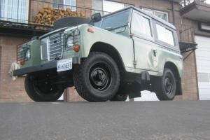 "1971 Land Rover Series IIA 88"" LHD"