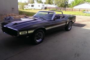 1969 Ford Shelby GT 350 Mustang Convertible 4 speed, air, numbers matching