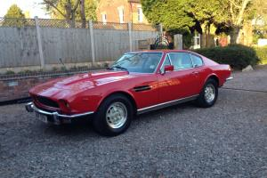 1980 Aston Martin V8 V540 Red 95k From New Photo