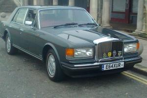 bentley mulsanne 1987 REDUCED!! 39000K 3XTV gun met grey with burg/cream leather