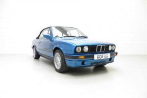 A Fabulous and Very Rare BMW E30 318i Convertible Motorsport Design Edition