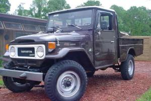 1980 Toyota Land Cruiser Base Standard Cab Pickup 2-Door 4.2L
