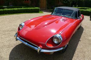 Jaguar E Type Series 2 Roadster