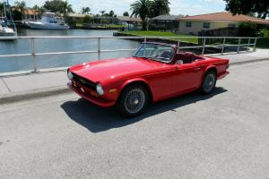 1970 Triumph TR6 - Beautiful classic with lots of work done!