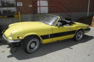 1976 Triumph Spitfire 1500 English Sports Car Project Minimal Rust, Nice Chrome
