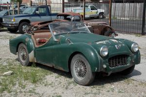 1957 Triumph TR3, CLEAR TITLE, GLOBAL DELIVERY, NICE CAR FOR RESTORATION, RARE
