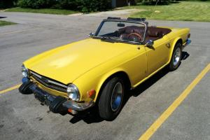 1974 Triumph TR6 TR-6 Convertible 2-Door 2.5L V6 , No Reserve !!! Photo