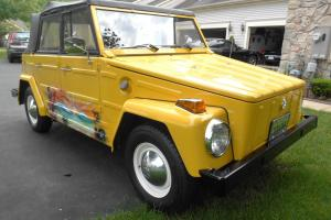 Volkswagen Thing convertible 1973 VW SHOW CONDITION 27,632 miles Garaged kept