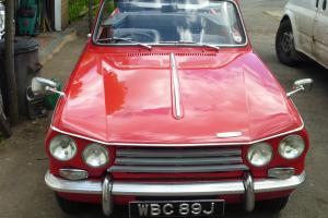 1970 TRIUMPH VITESSE 2 LITRE CONVERTIBLE COMMISSION NUMBER HC56590CV