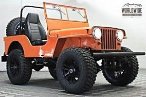 1947 Willys CJ3B Jeep Lifted and Restored!!