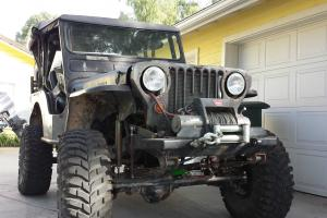 """1952 Willys CJ 3A Jeep Chevy small block , Custom dana 44 and ford 9"""""""