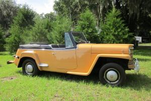 Willys Jeepster Phaeton Convertible 1950